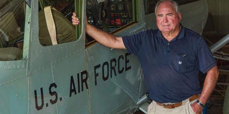 Alabama vintage airplane restorer enjoys taking it to new heights