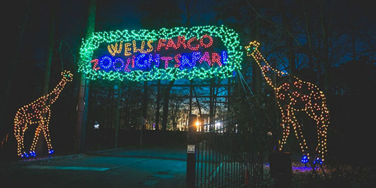 Christmas with Can't Miss Alabama has spectacular entertainment with ZooLight Safari and Galaxy of Lights