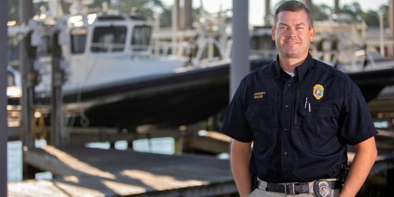 University of South Alabama alum protects Alabama's marine resources