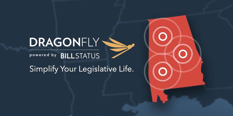 Powerful Alabama-based legislative tracking platform, Dragonfly