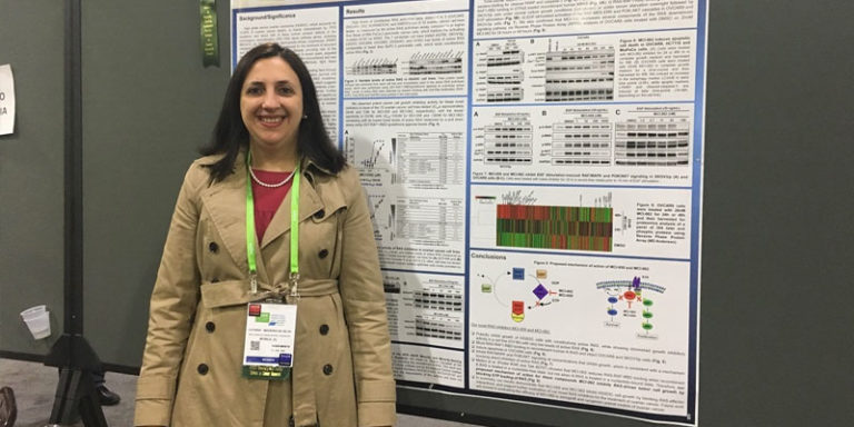 USA Health's Madeira da Silva honored for cancer research at AACR annual meeting