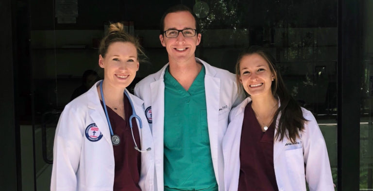University of South Alabama students meet patients where they are, even in Peru