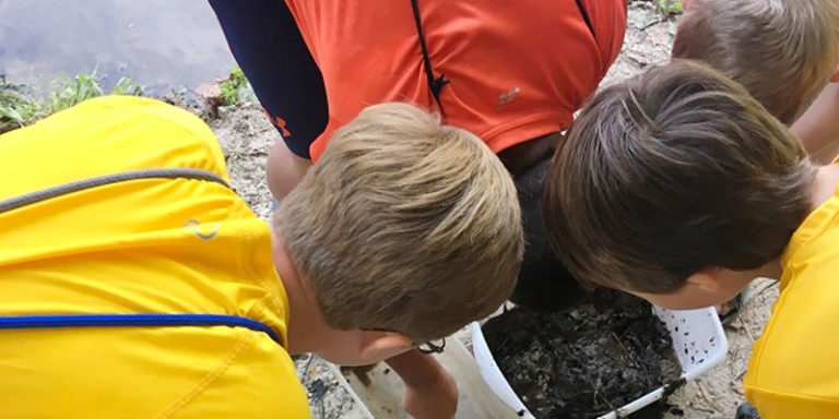 Tallassee City School Water Festival held at the Alabama Nature Center