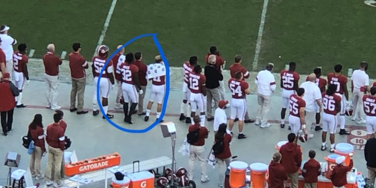 Why Dylan Moses suiting up against LSU almost brought some of his Tide teammates to tears