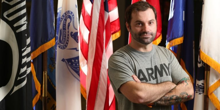 After two combat tours, University of South Alabama student PAVEs way forward for other veterans