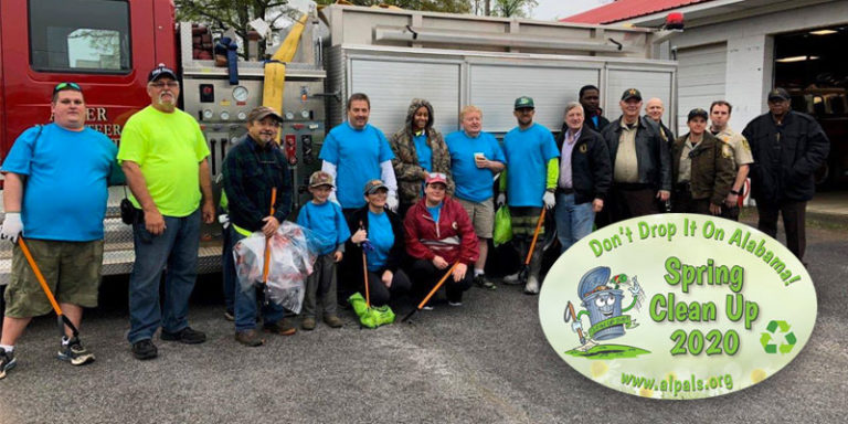 Alabama PALS set to kick off 2020 'Don't Drop It On Alabama' Spring Cleanup in April