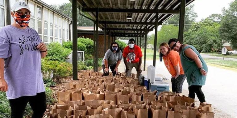 Alabama Power Gadsden employee enlists friends' help to feed kids, neighbors during pandemic