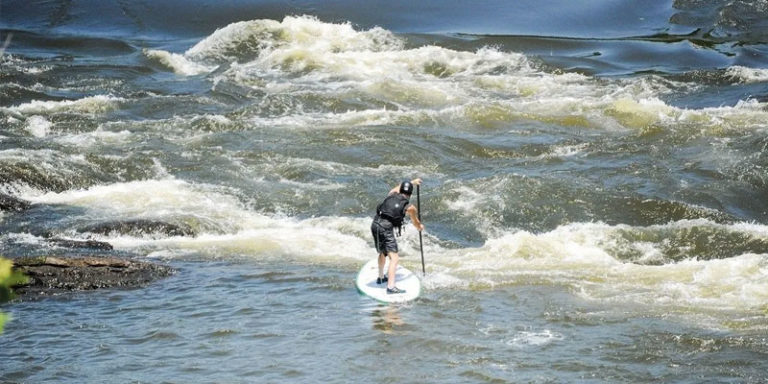 Recreational releases from Jordan Dam keep whitewater enthusiasts on their game