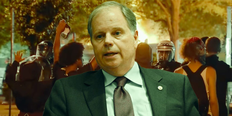 Ainsworth: Democrat Doug Jones fiddles while America's cities burn