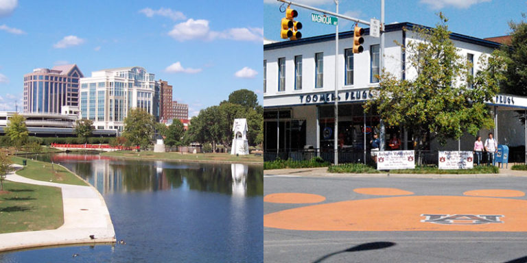 Huntsville, Auburn named in list of 100 best places to live for 2020