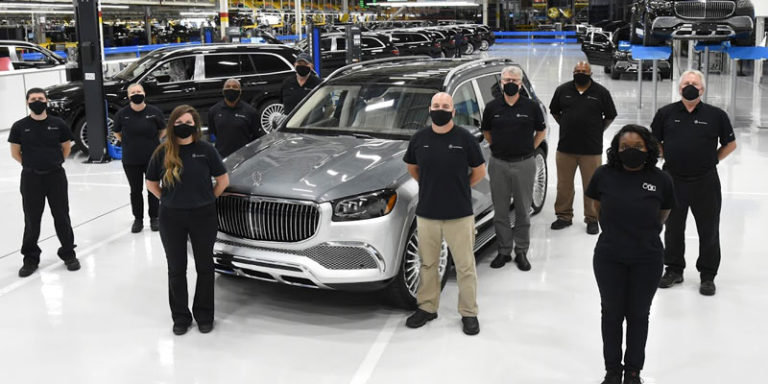 Mercedes Alabama plant launches production of $200,000 Maybach