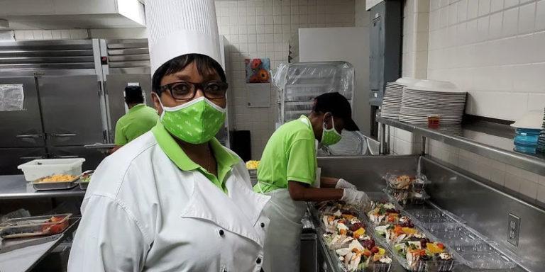 Regions' dining room heroes feed community seniors, students