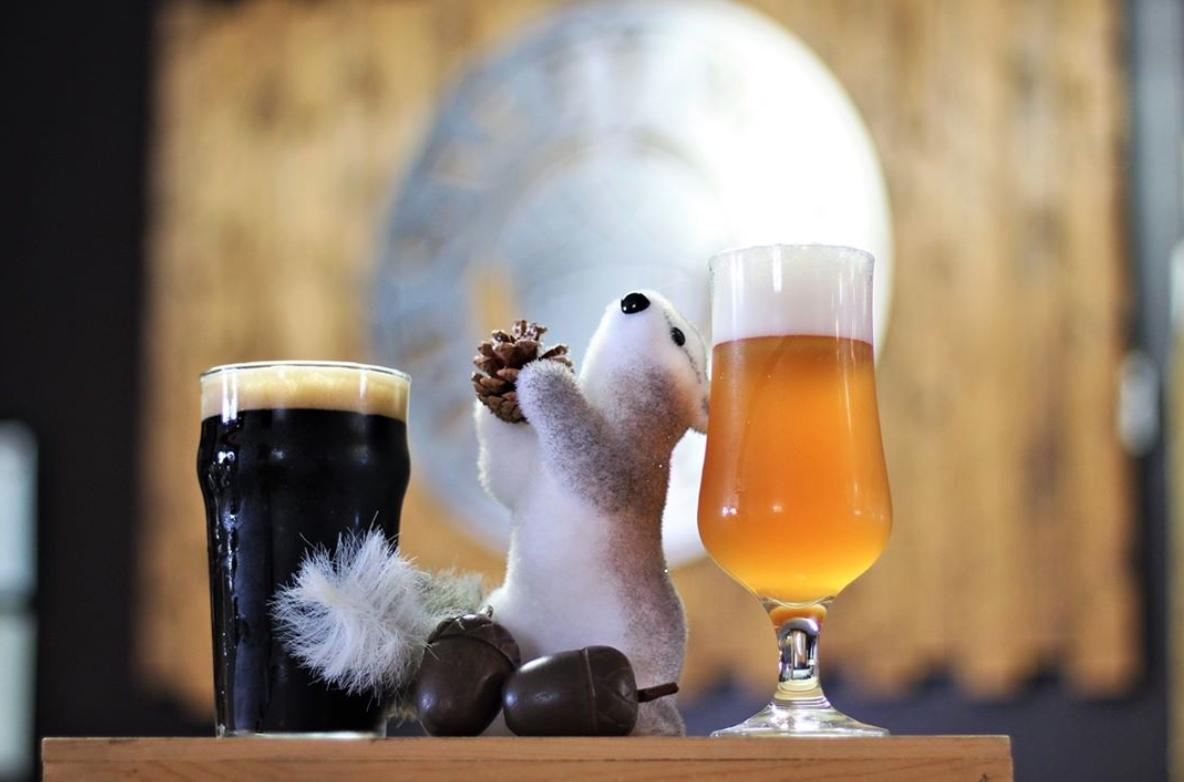 fall beers salty nut brewery