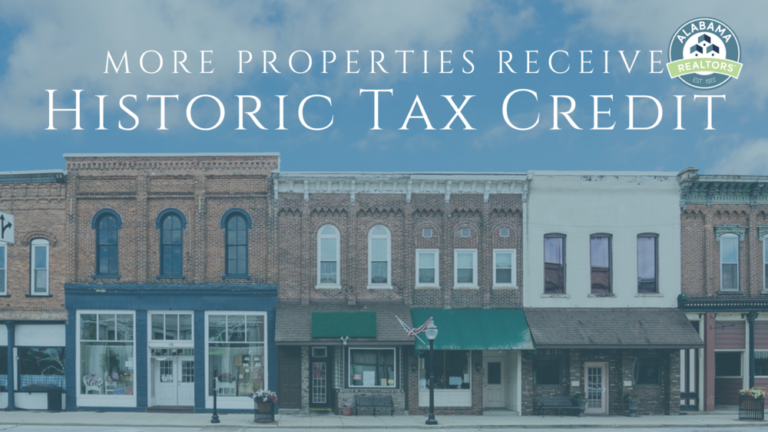 Alabama's Historic Tax Credit breathing life into old buildings