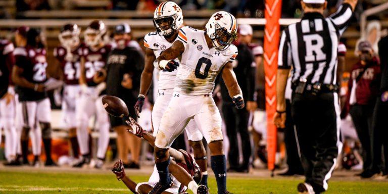 Auburn outlasts Mississippi State, wins 24-10
