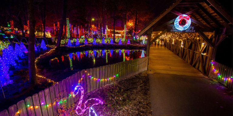 Where to see the best Christmas lights in Alabama