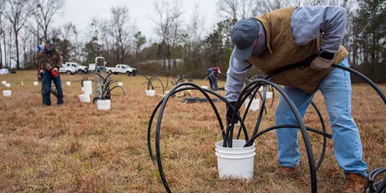 Volunteers build new fish habitats for Alabama's lakes and rivers
