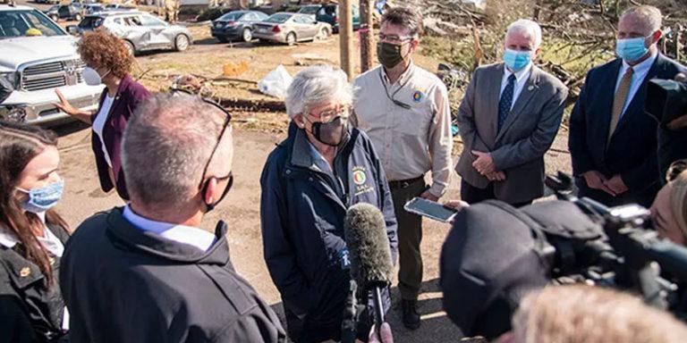 Help pours into tornado-damaged Alabama