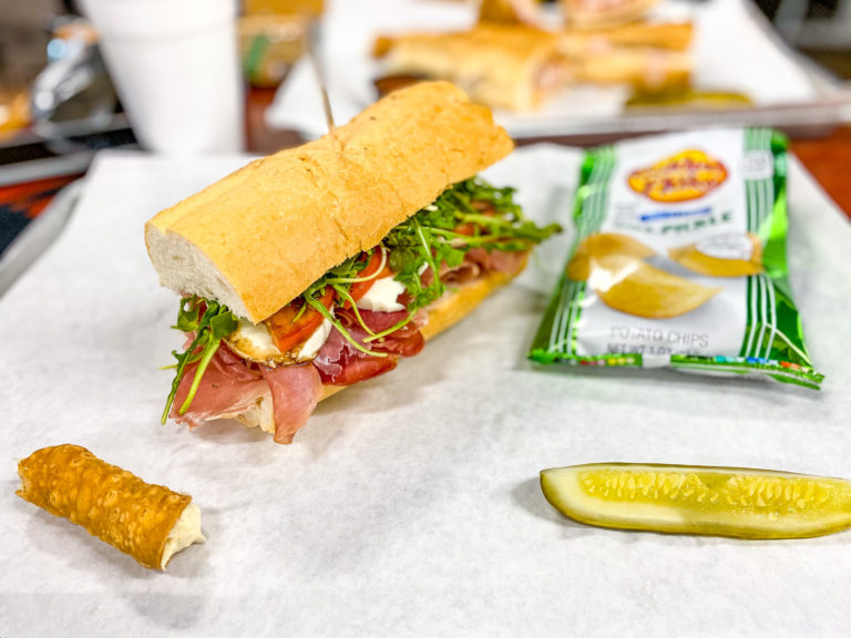 Try this new Italian deli inside a Birmingham clothing and accessories store