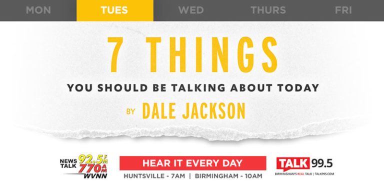 7 Things: Trump headed back to Alabama, schools start to put the masks back on, $1 trillion infrastructure deal seems good to go and more …