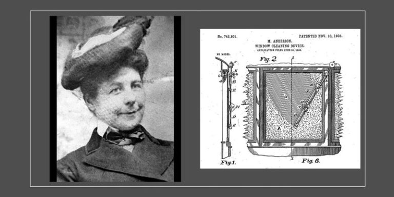 Alabama woman designed the first operational windshield wiper