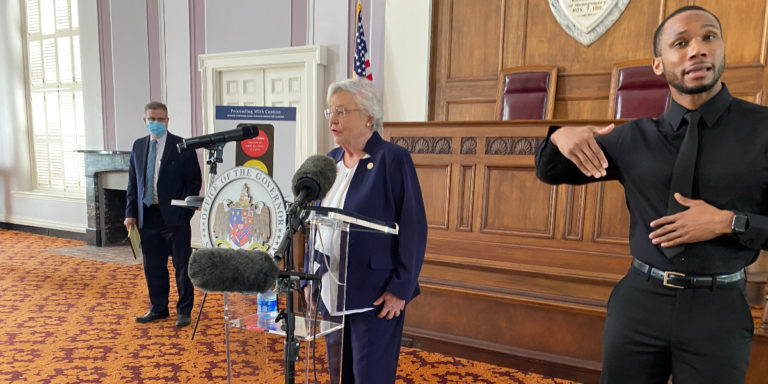 Ivey follows through on ending mask mandate, issues order keeping some precautions in place