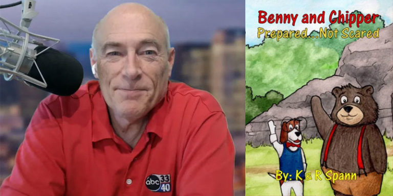 Alabama meteorologist James Spann publishes children's book