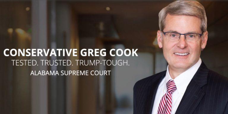 Alabama Supreme Court candidate Greg Cook lands Alabama Civil Justice Reform Committee endorsement