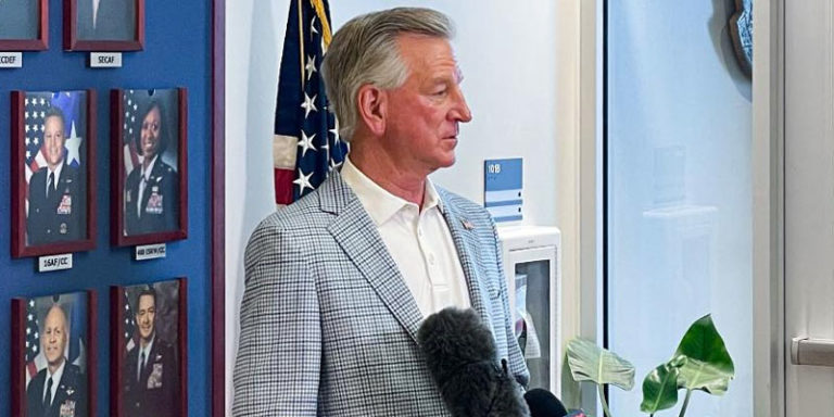 Tuberville vows to not allow Biden to distract with vaccine mandate — 'We're going to hang this Afghanistan deal around their neck until the election'