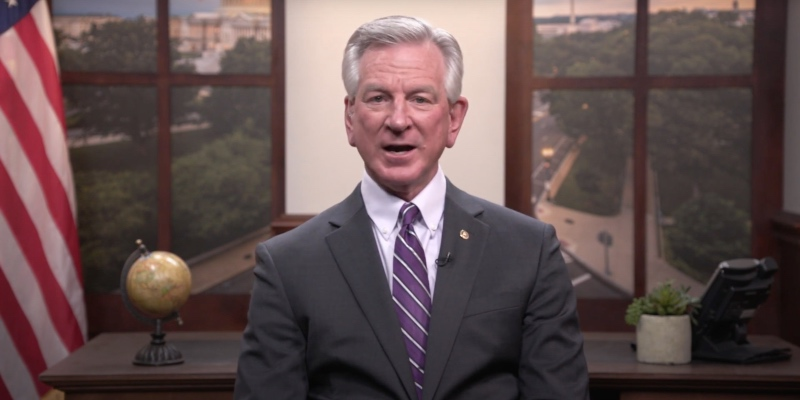 Tuberville demands federal government answer for restricting Alabama's access to effective COVID-19 treatment