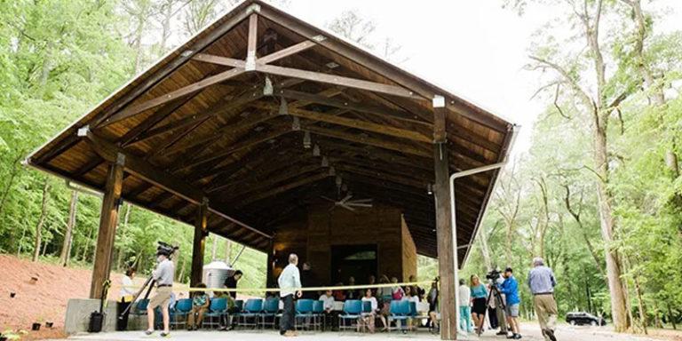Turkey Creek celebrates the Darter Festival, unveils new pavilion