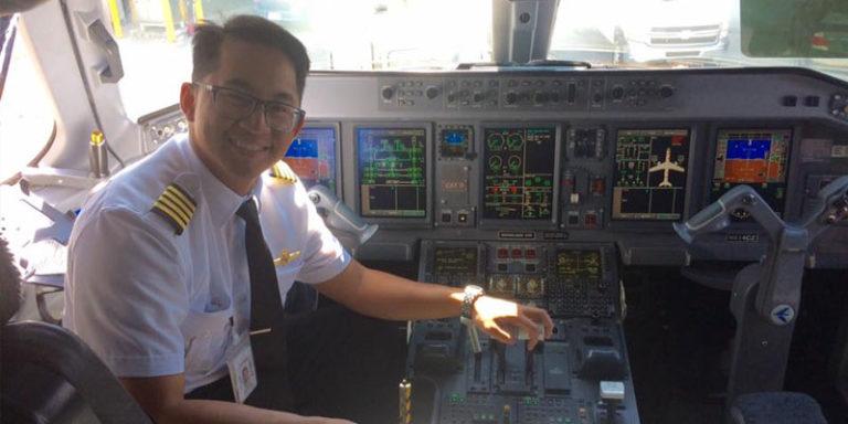South Alabama pilot nurses a dream