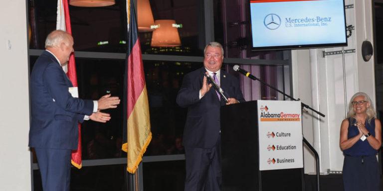 Alabama Germany Partnership honors companies, Commerce Sec. Canfield