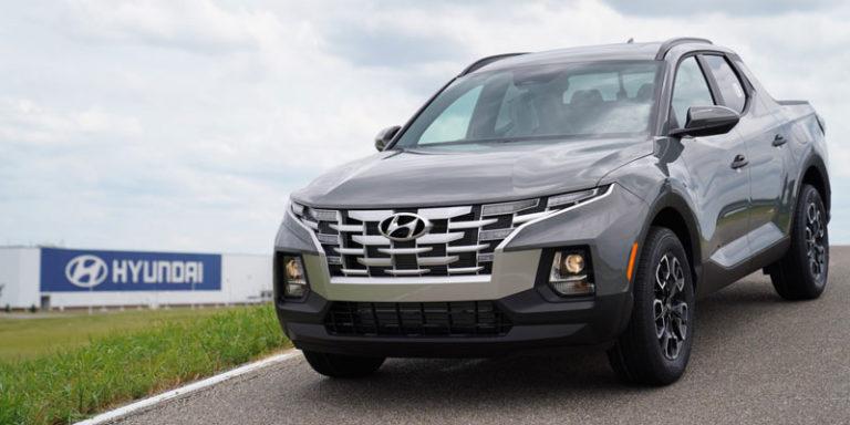 Hyundai Alabama launches mass production of Santa Cruz sport utility