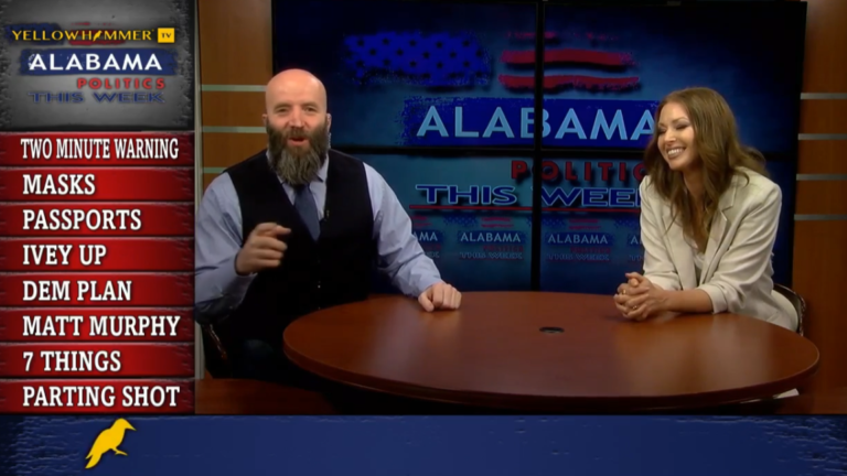 VIDEO: Masks work their way back into schools, Ivey is crushing her opponents, Alabama Democrats have a super-secret plan and more on Alabama Politics This Week …