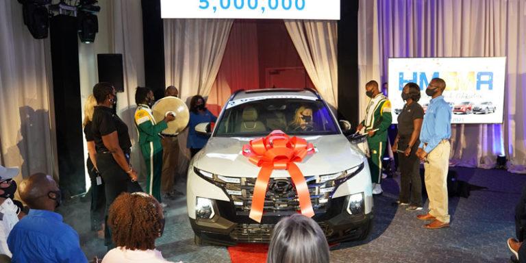 Milestone: Hyundai marks 5 million Alabama-built vehicles