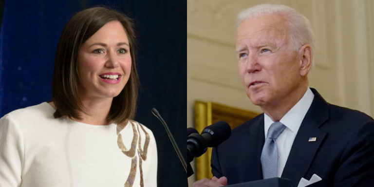 Katie Britt criticizes Biden's vaccine mandate, calls president's executive action 'anti-free market overreach'