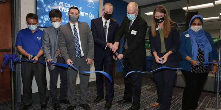 UAH College of Business unveils new Cybersecurity Lab to meet challenge of cyber threats