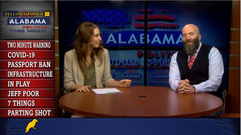 VIDEO: COVID-19 roars back in Alabama, calls for more restrictions pick up steam but seem unlikely, the final infrastructure cost and more on Alabama Politics This Week …