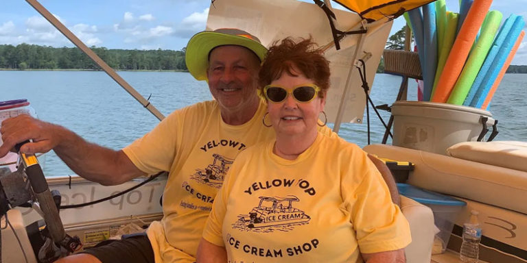 Yellow Top Ice Cream Shop owner honored as Tourism Superstar on Alabama's Lake Martin