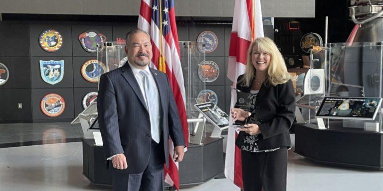 U.S. Space & Rocket Center receives FBI Community Leadership Award for Cyber Camp partnership