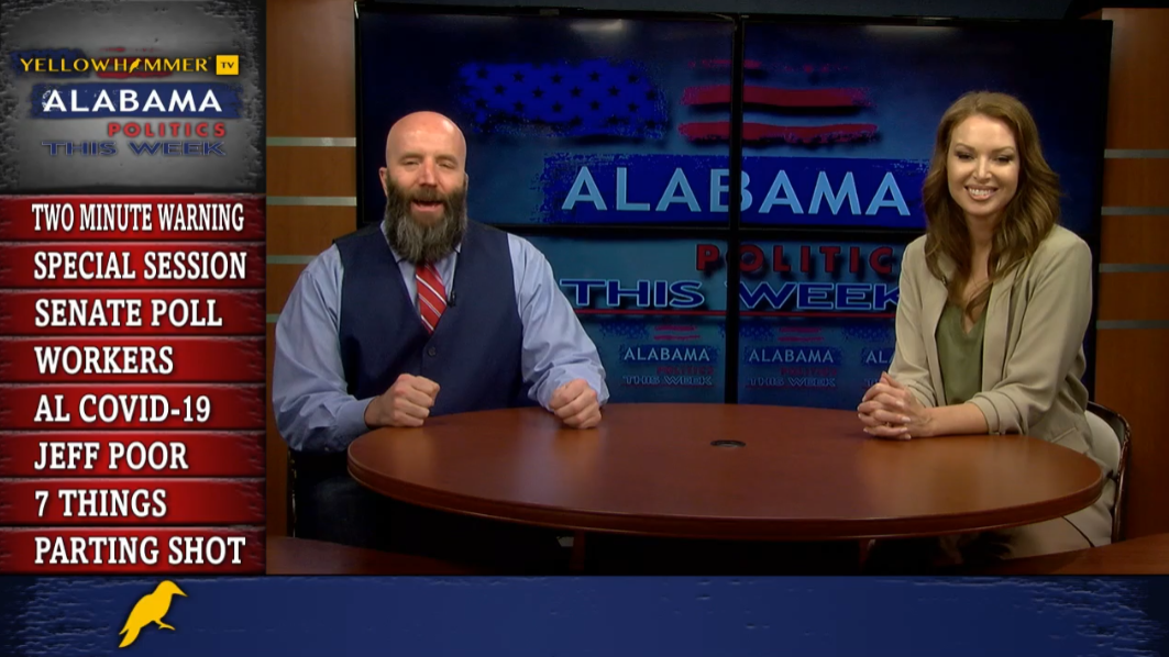 VIDEO: Special session for prisons all set, U.S. Senate polling shows little movement, Alabama workers will be hurt by mandates and more on Alabama Politics This Week … - Yellowhammer News