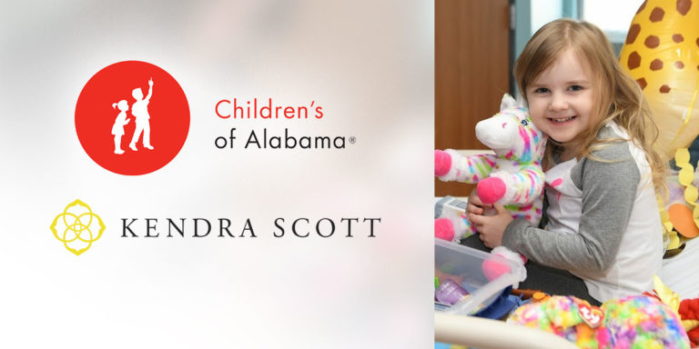 Kendra Scott gives back to Children's of Alabama in honor of Childhood Cancer Awareness Month