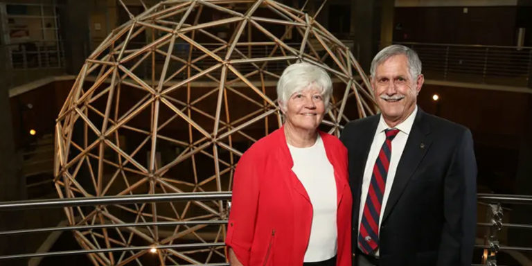 One couple's gift aims to repay 'a lifetime of opportunities gained through education'