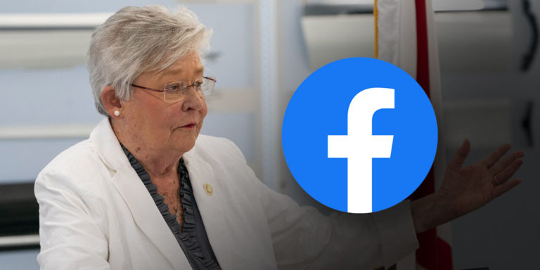Facebook hits Gov. Ivey campaign post with ban — 'We fought back and won'