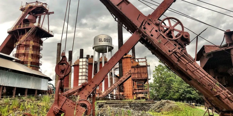 Hop aboard new Historic Red Ore Express walking tour for a trip into Birmingham's industrial past