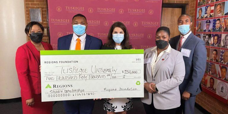 Regions Foundation awards $250K grant to Tuskegee University's needs-based scholarship program