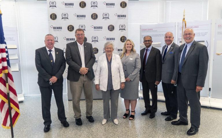 German auto supplier REHAU announces $50M expansion of Cullman plant, creating 125 jobs