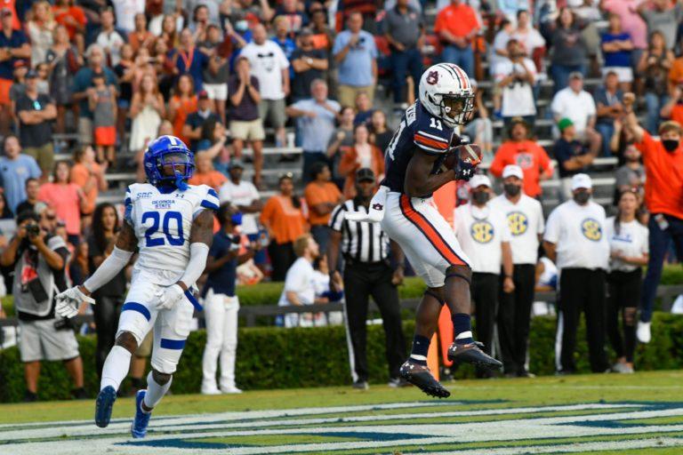 Auburn escapes Georgia State 34-24
